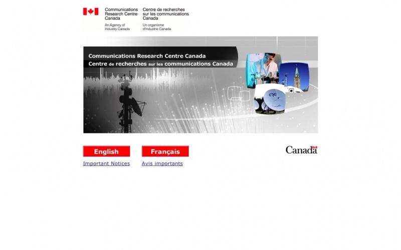 Communications Research Centre Canada | best drupal websites