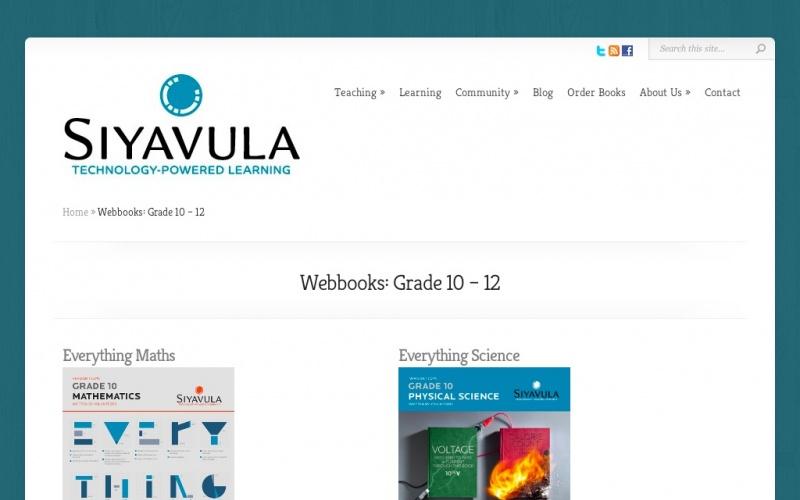 Free High School Science Texts | best drupal websites showcase