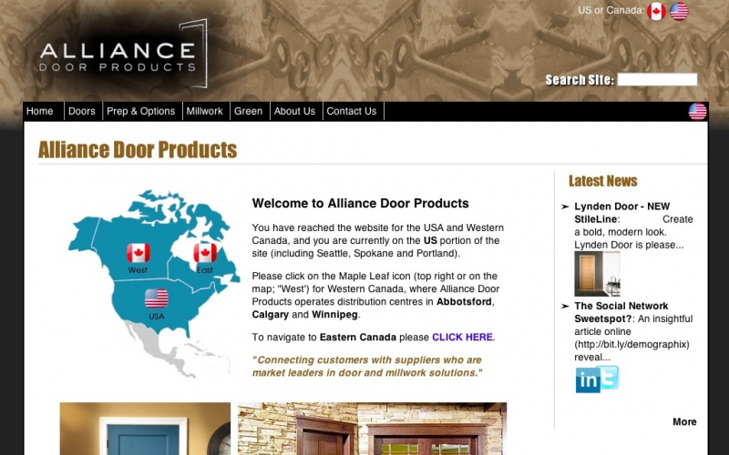 Genial Showcase → Alliance Door Products, LLC.