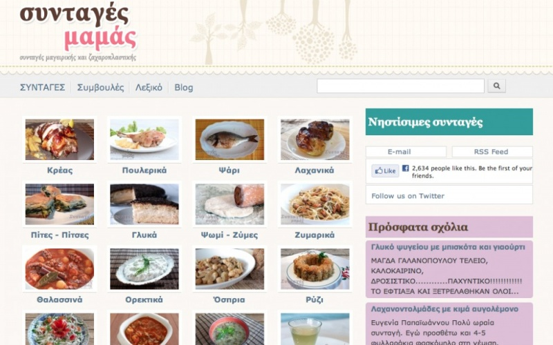 Syntages mamas greek food recipes best drupal websites showcase showcase syntages mamas greek food recipes forumfinder Image collections