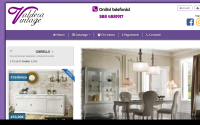 Italian furniture websites Living Room Valdera Vintageis An Ecommerce Site Specialized In Selling Elegant Classy And Optionally Customized Furnitures Italian Best Drupal Websites Showcase